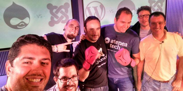 Resumen de la batalla: Drupal vs WordPress vs Joomla!